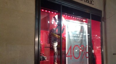 Photo of Clothing Store Banana Republic at 626 5th Ave, New York, NY 10111