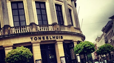 Photo of Theater Toneelhuis (Bourlaschouwburg) at Komedieplaats 18, Antwerpen 2000, Belgium