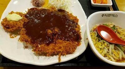 Photo of Steakhouse 홍익돈까스 at 수성구 동대구로 90, 대구광역시, South Korea