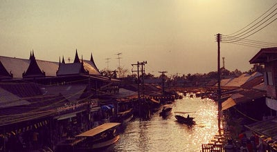 Photo of Tourist Attraction Amphawa Floating Market at ถ.เลียบนที, Amphawa 75110, Thailand