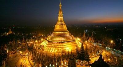 Photo of Buddhist Temple Shwedagon Pagoda at U Htaung Bo Road, Yangon, Myanmar
