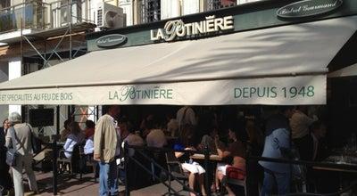 Photo of French Restaurant La Potinière du Palais at 13 Square Mérimée, Cannes 06400, France