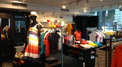 Photo of Clothing Store Lacoste at 420 Park Ave South, New York, NY 10016, United States