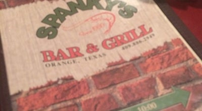 Photo of Steakhouse Spanky's Bar & Grill at 1703 N 16th St, Orange, TX 77630, United States