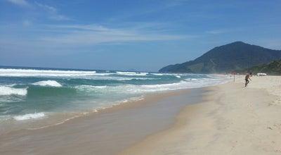 Photo of Beach Praia de Maresias at Praia De Maresias, São Sebastião, Brazil