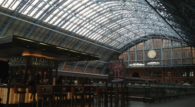 Photo of Champagne Bar Searcys Champagne Bar at St. Pancras International Station, London N1C 4QL, United Kingdom