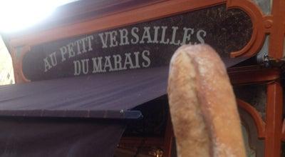 Photo of Bakery Au Petit Versailles du Marais at 1 Rue Tiron, Paris 75004, France