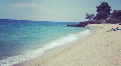 Photo of Beach Λαγομάνδρα (Lagomandra Beach) at Παραλία Λαγομάνδρα, Elia, Greece