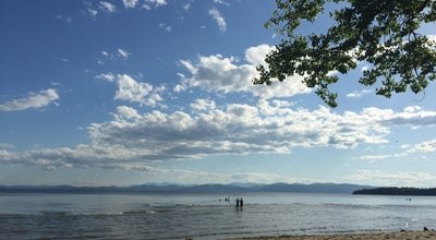 Photo of Beach Leddy Beach at Burlington, VT, United States