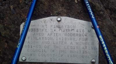 Photo of Trail Finlayson Summit at Canada