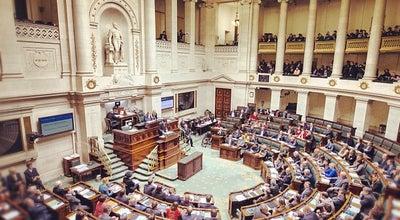 Photo of Capitol Building Belgisch Federaal Parlement / Parlement Fédéral Belge at Paleis Der Natie / Palais De La Nation, Brussels 1000, Belgium