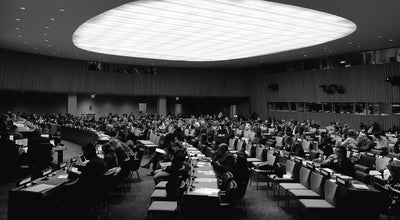 Photo of Auditorium United Nations General Assembly at United Nations Headquarters, New York, NY 10017, United States