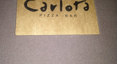 Photo of Pizza Place Carlota Pizza Bar at Av. Santos Dumont, 1520, Uberaba 38050-400, Brazil