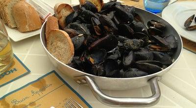 Photo of Italian Restaurant Hostaria L'angolinosulmare at Lungomare Marconi, 38, Senigallia 60019, Italy