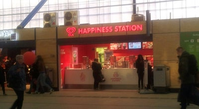 Photo of Ice Cream Shop OLA Happiness Station at Station Utrecht Centraal, Utrecht, Netherlands
