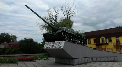 Photo of Monument / Landmark Танк at Рівне 33000, Ukraine