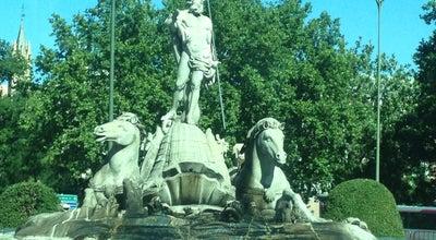 Photo of Monument / Landmark Fuente de Neptuno at Pl. De Cánovas Del Castillo, Madrid 28014, Spain