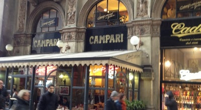 Photo of Cocktail Bar Camparino at Galleria Vittorio Emanuele Ii, Milano 20121, Italy