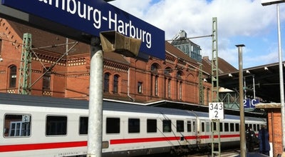 Photo of Train Station Bahnhof Hamburg-Harburg at Hannoversche Str. 85, Hamburg 21079, Germany