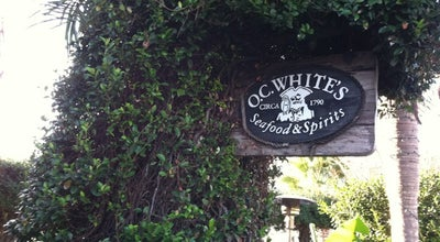 Photo of Seafood Restaurant O.C. White's at 118 Avenida Menendez, St Augustine, FL 32084, United States