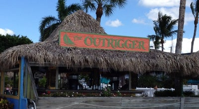 Photo of Bar Outrigger Tiki Bar at 6200 Estero Blvd, Fort Myers Beach,, Fort Myers Beach, FL 33931, United States