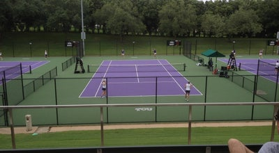 Photo of Tennis Court TCU Bayard H. Friedman Tennis Center at 3609 Bellaire Dr N, Fort Worth, TX 76109, United States
