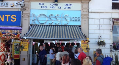 Photo of Ice Cream Shop Rossi's Ice Cream Parlour at 92 The Esplanade, Weymouth DT4 7AT, United Kingdom