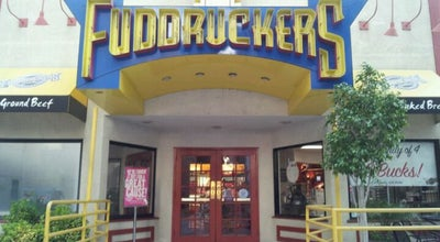 Photo of Burger Joint Fuddruckers at 221 N San Fernando Blvd, Burbank, CA 91502, United States
