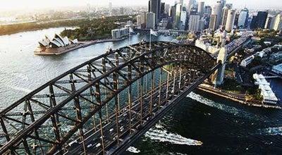 Photo of Bridge Sydney Harbour Bridge at Bradfield Hwy., Sydney, NS 2000, Australia