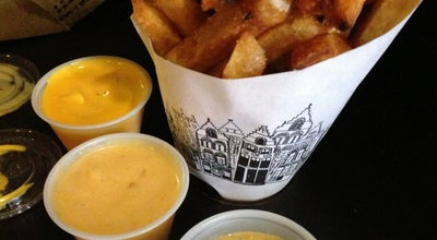 Photo of Belgian Restaurant Pommes Frites at 123 2nd Ave, New York, NY 10003, United States