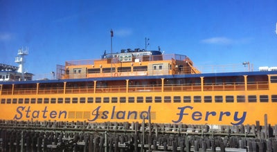 Photo of Boat or Ferry Staten Island Ferry Boat - Guy V. Molinari at 55 Water St, New York, NY 10004, United States