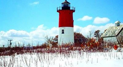 Photo of Lighthouse Nauset Light at 2 Nauset Light Beach Rd, Eastham, MA 02642, United States