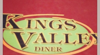 Photo of Diner Kings Valley Diner at 609 Ulster Ave, Kingston, NY 12401, United States