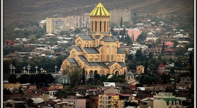 Photo of Church Holy Trinity Cathedral Sameba | სამების საკათედრო ტაძარი at Samreklo Street, Tbilisi, Georgia
