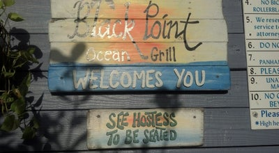 Photo of American Restaurant Black Point Ocean Grill at 24775 Sw 87th Ave, Miami, FL 33032, United States