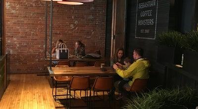 Photo of Coffee Shop Phil & Sebastian Coffee Roasters at Simmons, Calgary, Al T2G 0G1, Canada