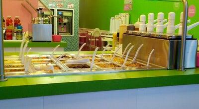 Photo of Ice Cream Shop SweetFrog at Carmel Village at 7510 Pineville Matthews Rd, Charlotte, NC 28226, United States
