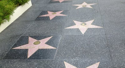 Photo of Monument / Landmark Hollywood Walk of Fame at Hollywood Blvd, Hollywood, CA 90028, United States