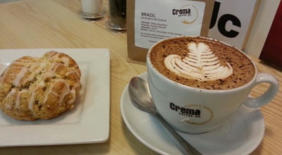 Photo of Coffee Shop Crema Coffee at 53 Bloor St. E, Toronto, ON M4W 1A9, Canada