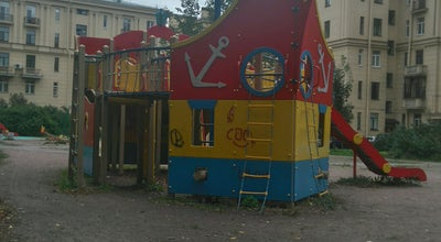 Photo of Playground Двор с кораблем! at Ул Зайцева 6, Russia
