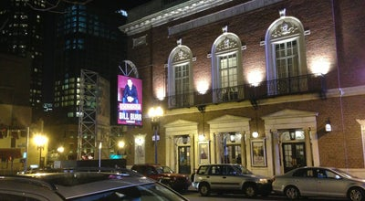 Photo of Comedy Club Wilbur Theatre at 246 Tremont St, Boston, MA 02116, United States