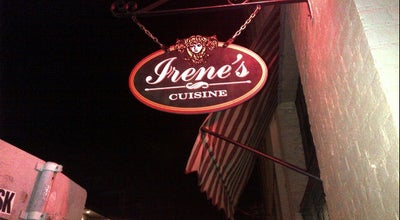 Photo of Italian Restaurant Irene's Cuisine at 539 Saint Philip St, New Orleans, LA 70116, United States