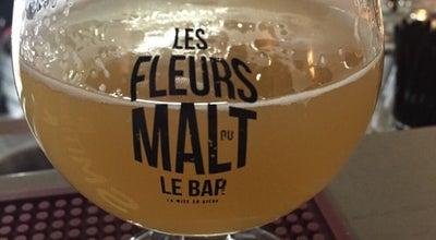 Photo of Beer Garden Les Fleurs du Malt at 56 Cours Gambetta, Lyon 69007, France