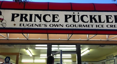 Photo of Ice Cream Shop Prince Pückler's Gourmet Ice Cream at 1605 E 19th Ave, Eugene, OR 97403, United States