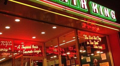 Photo of Hot Dog Joint Papaya King at 3 St Marks Place, New York, NY 10003, United States