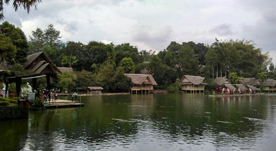 Photo of Lake Danau Sampireun at Kampung Sampireun Resort & Spa, Garut, Indonesia