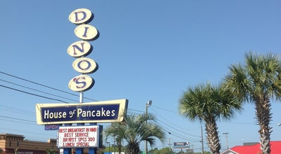 Photo of Breakfast Spot Dino's House of Pancakes at 2120 Highway 17 S, North Myrtle Beach, SC 29582, United States