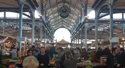 Photo of Market Les Halles — Marché Couvert de Dijon at 12 Rue Odebert, Dijon 21000, France