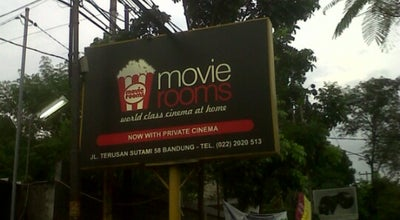 Photo of Indie Movie Theater Movie Room Bandung at Jalan Sutami 58, Bandung, Indonesia