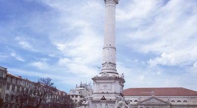 Photo of Plaza Praça Dom Pedro IV at Portugal